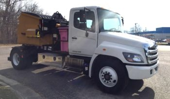 New 2018 Hino 338D with Galbreath SLCH-R-93 with Rotator Loaded Can Delivery Unit full