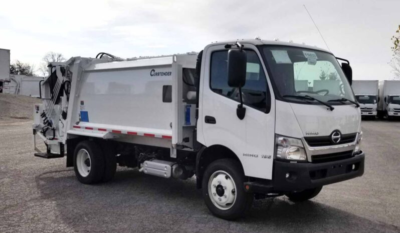 P116523 | NEW 2020 Hino 195 with 8 yd Curbtender Quantum Rear Loader full